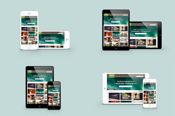 Tablet & Phone Devices Mockups
