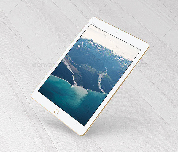 Tablet Presentation Mock-Up