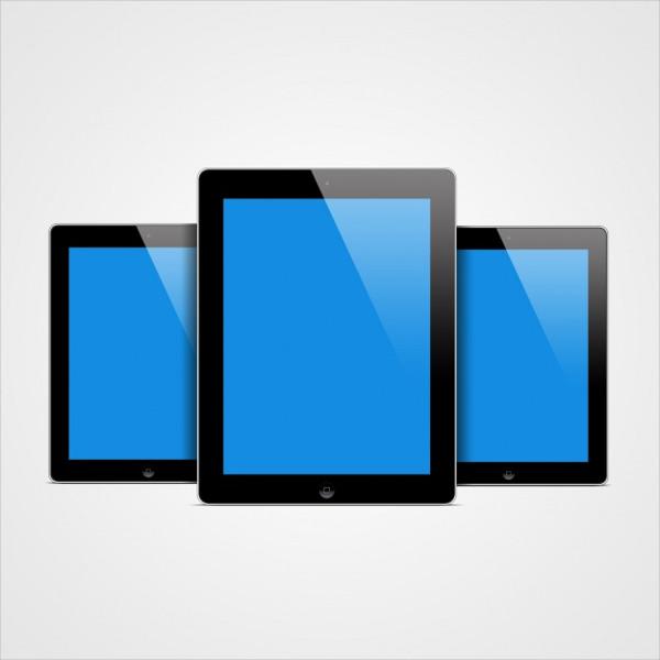 Free Tablet Mockup Design