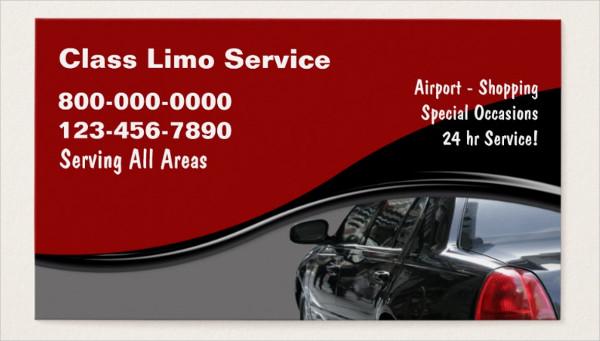 Customizable Taxi Business Cards
