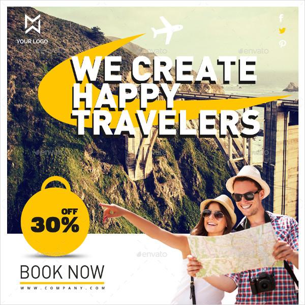 Creative Travel Banners