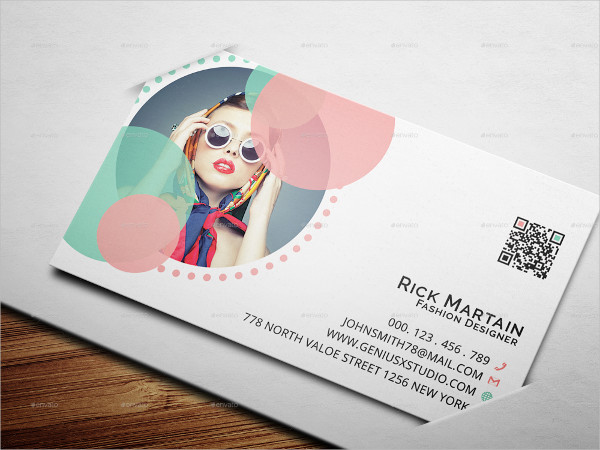 Latest Fashion Business Card Template