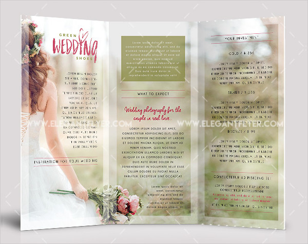 Tri-fold Wedding Invites Free