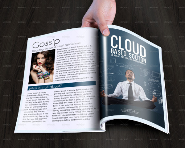 Ultra Realistic Magazine Mock-Up