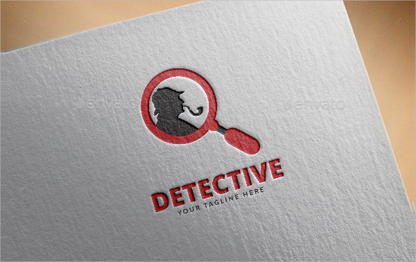 Unique Detective Logo Template