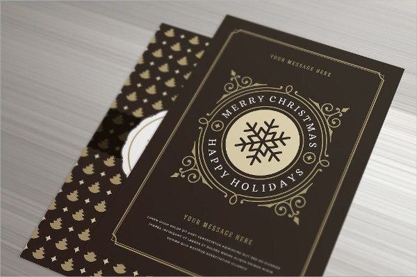 Vector Design Christmas Greeting Cards