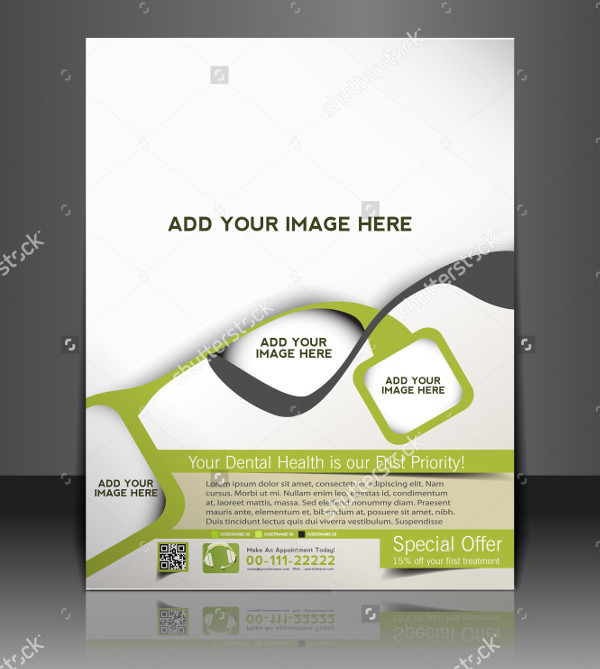 Stylish Dental Brochure Template