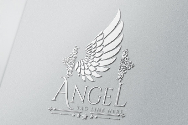 Royal Angel Logo Template
