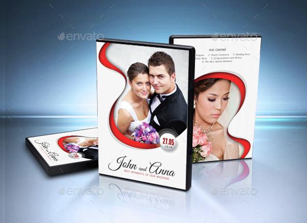 Best Wedding DVD Cover Template