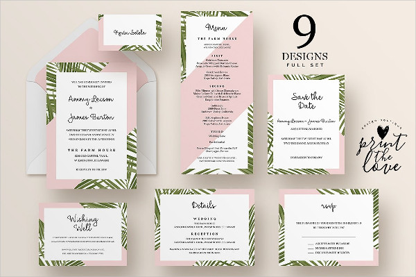 Best Watercolor Wedding Invitation Templates