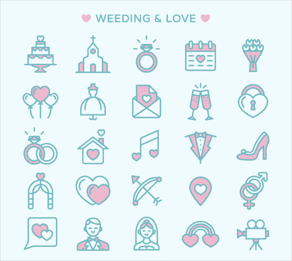Best Love Icons Free Download