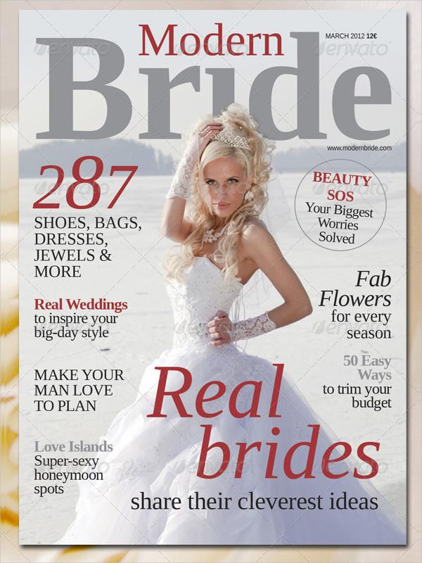 Glossy Wedding Magazine Templates Pack