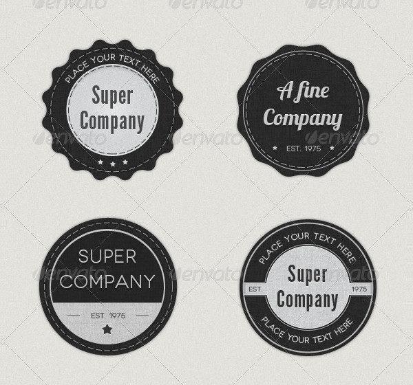8 Elegant Logo Badge Pack