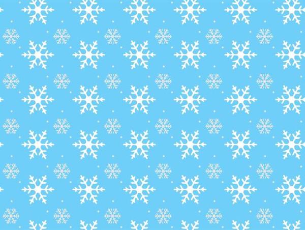 Winter Snowflake Pattern Free
