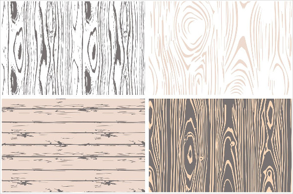 Woodgrain Seamless Vector Patterns
