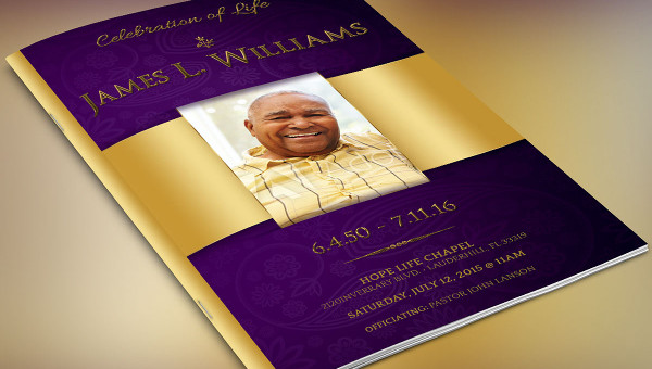 Funeral Brochure Templates Free Premium Download - Funeral brochure templates free