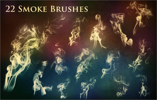 22 Smoke & Fire Brush Set