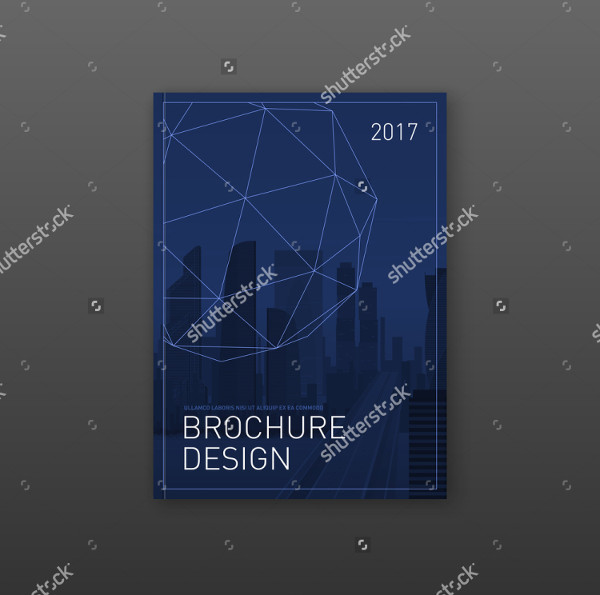 Construction Technology Brochure Design