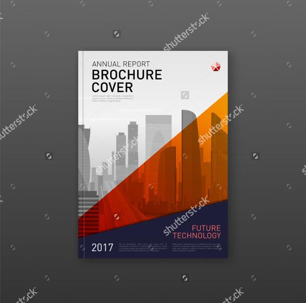 Abstract Construction Company Brochure