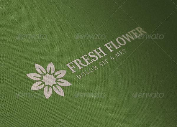 Fresh Flower Logo Template