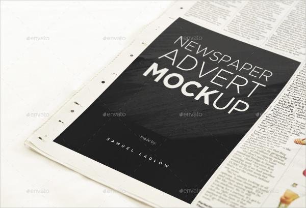 6 Newspaper Mockups