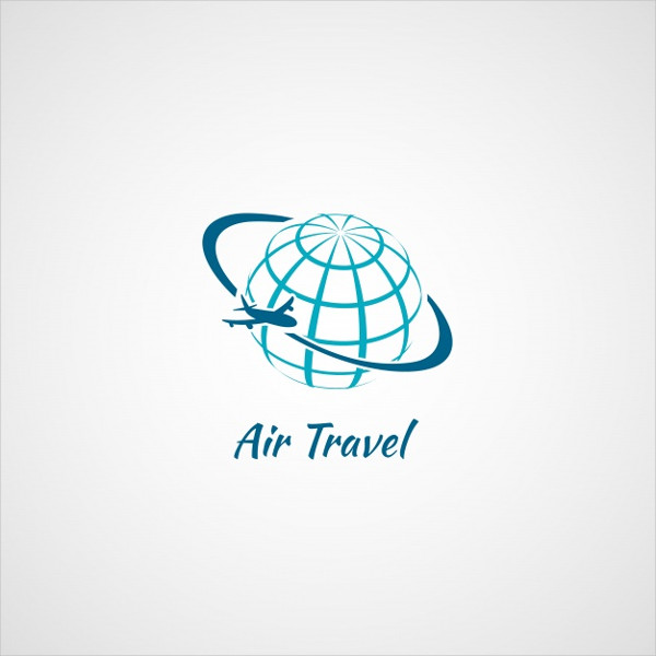 Free Logo Template for Air Travel
