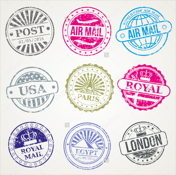 stamp template 53 free psd eps vector format download