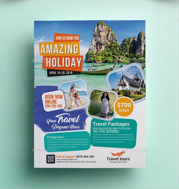 31 Cool Travel Flyer Templates Free Premium Download