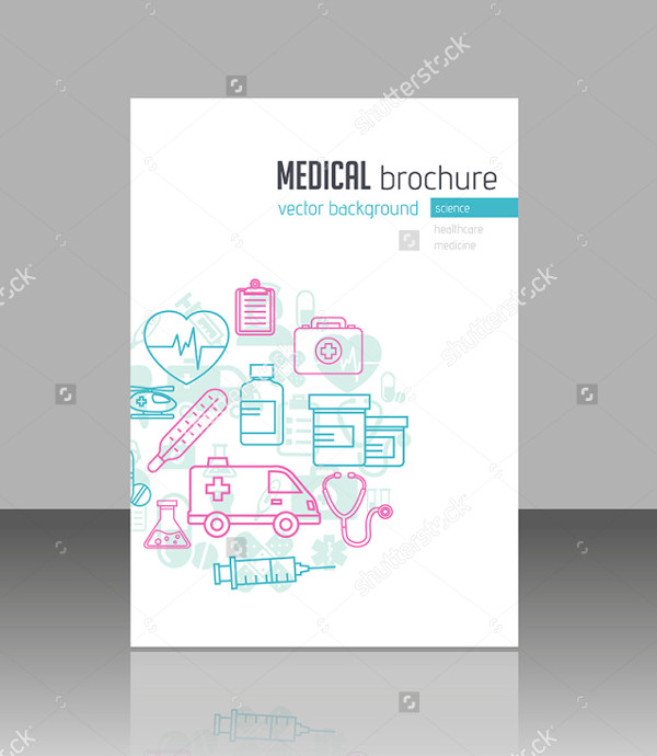 Medical Brochure Template for Web