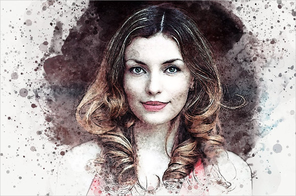 Artist Studio Watercolor Photoshop Actions