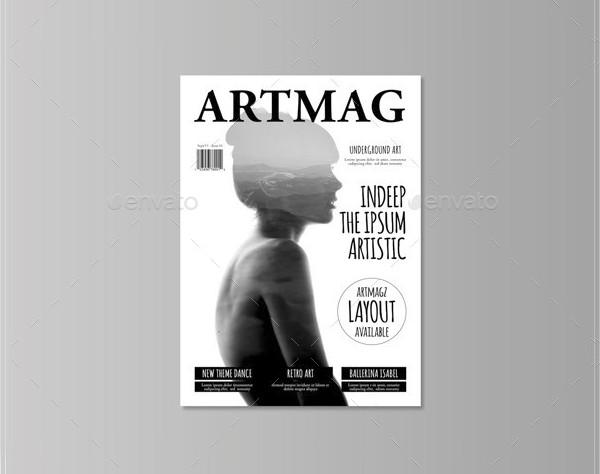 Artistic Editable Magazine