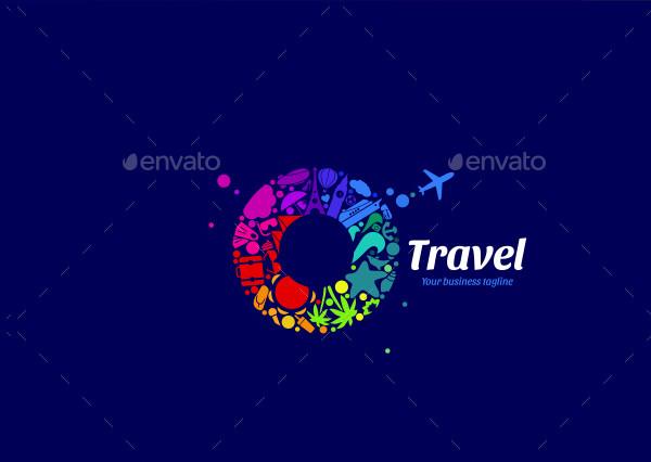 Stylish Travel Logo Template