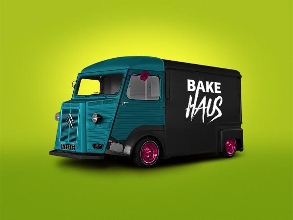 Bakery Van Mock-Up