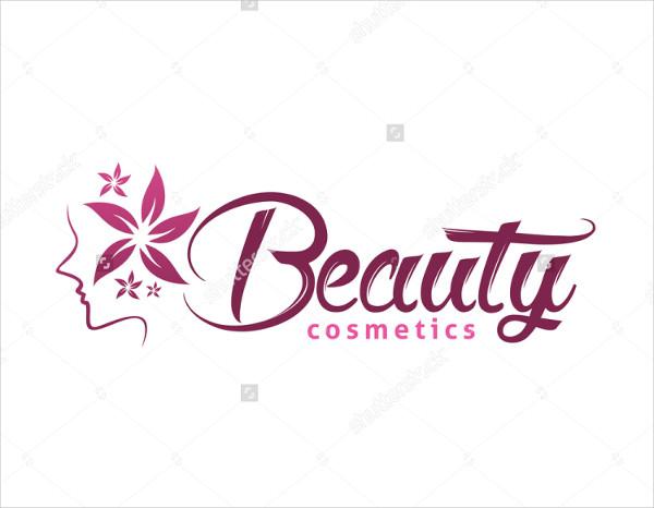 Beauty Cosmetics Logo Template