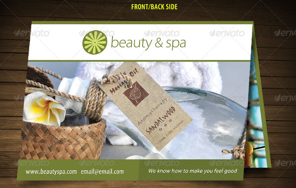 Beauty Spa Brochure and Business Cards