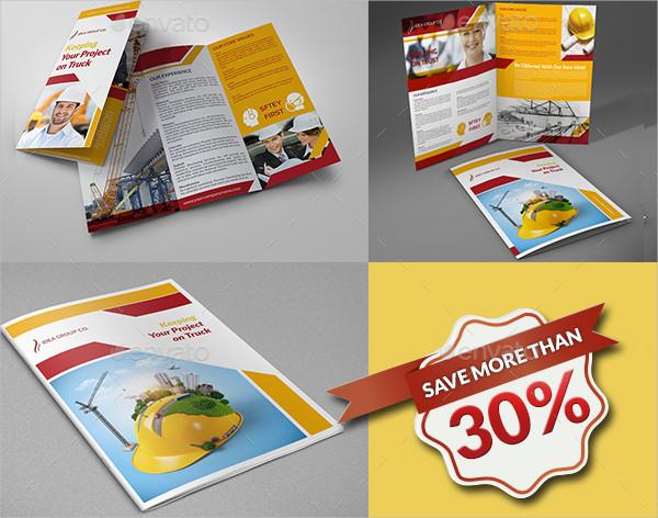 Best Construction Company Brochure Bundle