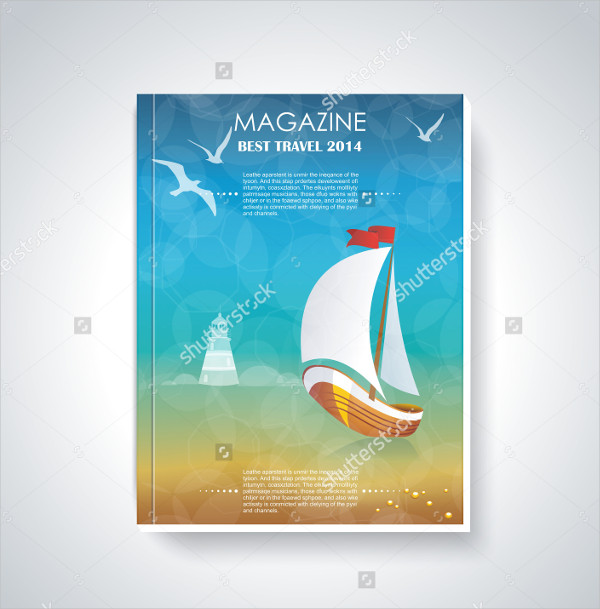 Best Travel Magazine Template