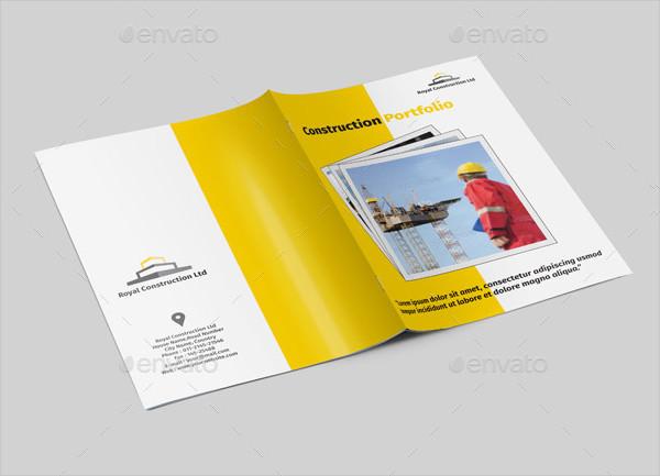 Bifold Construction Company Portfolio Brochure