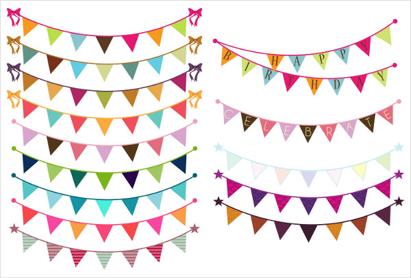 Birthday Bunting Banners