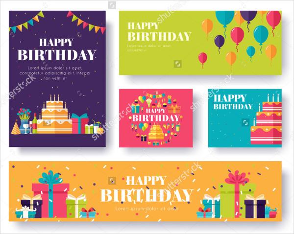 Birthday Gifts Banner Set