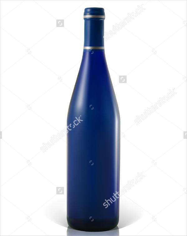 Wine or Cocktail Bottle Mockup