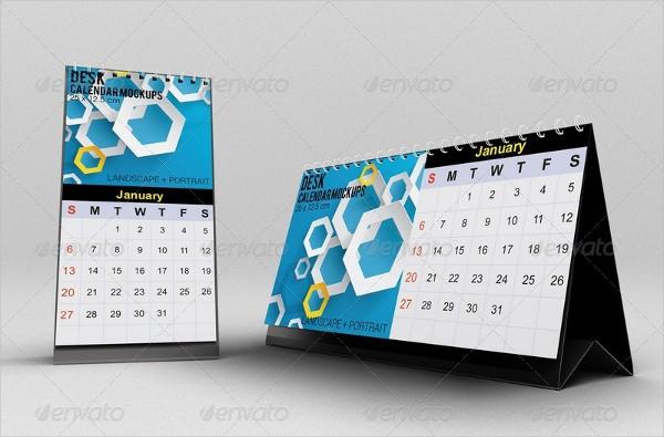 Branding Calendar Mockups