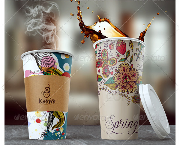 Branding Coffee Cup Mockups