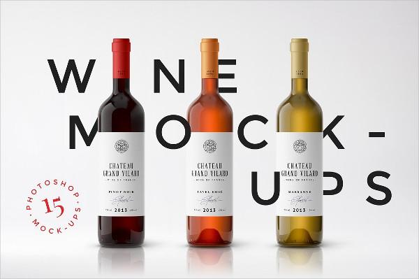 Branding Wine Packaging Mockups
