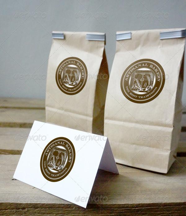 Brown Paper Bag Mock-Up