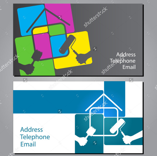 Business Cards for Painting Houses