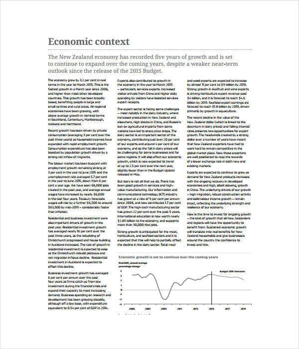 Business Growth Agenda Template