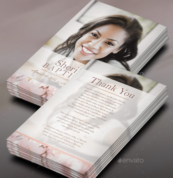 Cherry Funeral Program Stationery Template