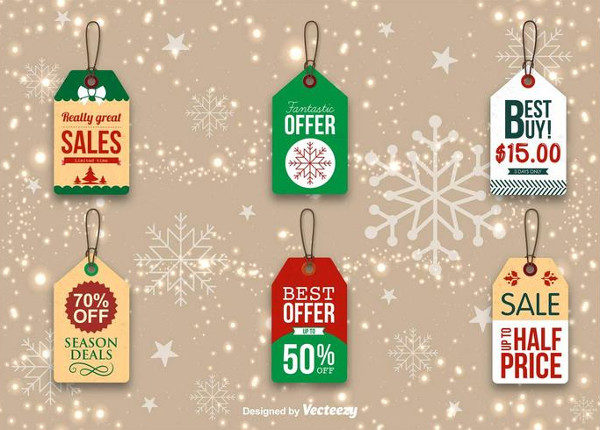 Christmas Promo Tags Free Download