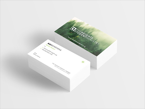 Church Heights Business Card